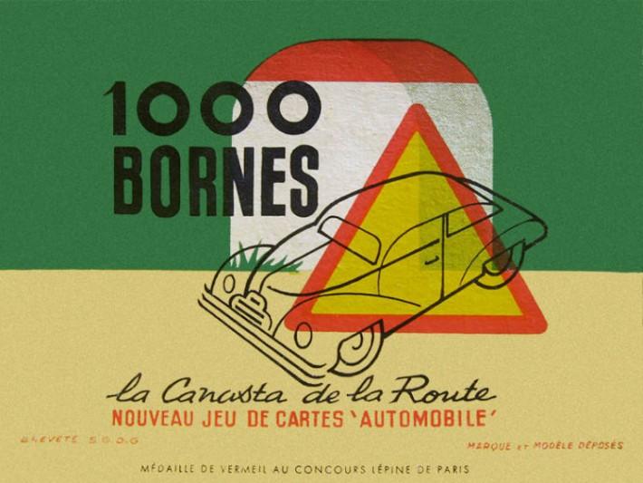 La première édition du 1000 Bornes
