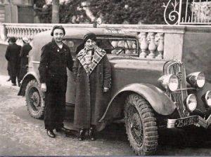 DES FOREST Simone gagnante féminine du Monte Carlo en 1934